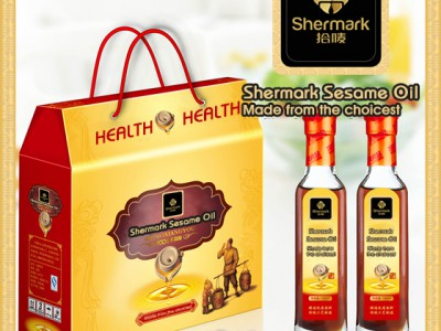 Organic Refined Pure Good Taste Sesame Oil with Bright Light Golden Color