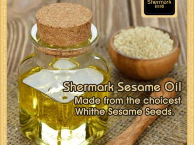 Cooking with White Sesame Oil with Many Health Benefits