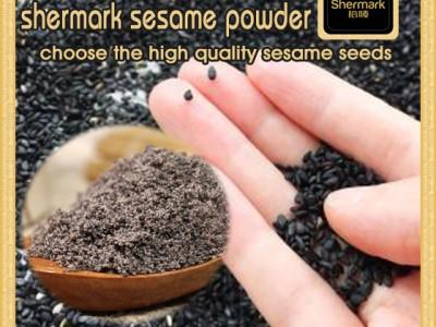 High Purity Nutrition Breakfast Instant Black Sesame Powder in Jar