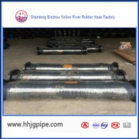 Easy Install And Fast Delivery Discharge Rubber Hose For Dredging
