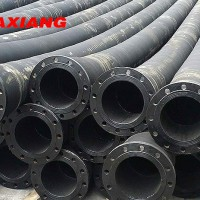 Large Diameter Flanged Suction Discharge Dredging Rubber Hose High Quality Rubber