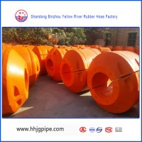 Marine Pipeline Buoy Floater For Sand Dredger Pipeline High Quality With Wear Resistance
