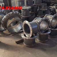 Galvanized Flange Used For Connecting The Dredging Pipe