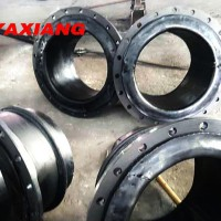 Steel Flanges Used In Connecting The Dredging Pipeline