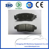 Auto Car Parts Disc Brake Pad D1677 For ISUZU CHEVROLET
