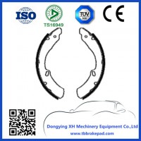 Wear Resisting High Temperature Mountain Region Toyota Brake Shoes With Drum
