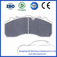 No Noise Semi Metal Mountain Region IVECO Truck Brake Pad With Shim