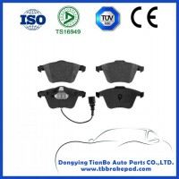 Volkswagen Scirocco No Noise Low Metal Mountain Region Front Brake Pad With ISO Certification
