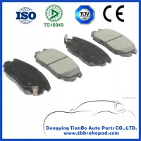 Hyundai Tucson No Noise Low Metal Mountain Region Front Brake Pad With ISO Certification
