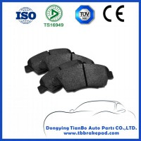 Ford Focus No Noise Low Metal Mountain Region Front Brake Pad With ISO Certification