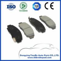 Honda Accord Low Noise Ceramics No Asbestos Organic Front Brake Pad