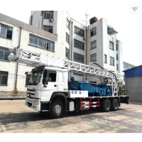 HOWO 400m truck mounted borehole drilling machines