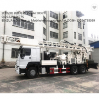 HOWO 400m truck mounted water well drilling rig  >=1 Sets