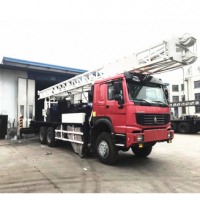 BINZHOU famous in Africa truck mounted bore hole drilling machine