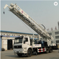 400M truck mounted drilling rig for water well