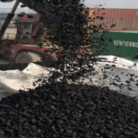 Share High carbon Low Sulfur metallurgical coke For Steel Mill