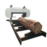 large horizontal band saw wood cutting sawmill log sawing machine