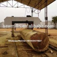 Horizontal Log Cutting Band Saw large sawmill machine