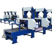 Mobile Sawmill Portable Multiple Heads Wood Saw Mills Lumber Cutting Saw Machine for sale