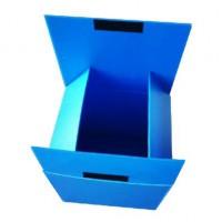 Hot sale collapsible plastic corrugated storage box