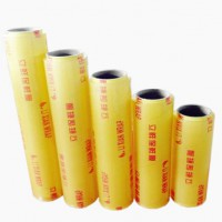 hot sale pvc cling film food wrap transparent plastic packaging film clear wrapping plastic paper