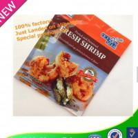 manufactory price laminated material gravure printing seafood plastic packaging bag
