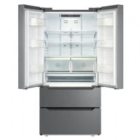 22.5Cuft Stainless Steel French Door Refrigerator And Freezer