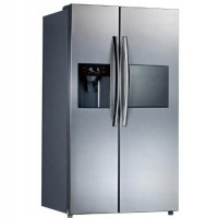 585L Stainless Steel Side By Side Refrigerator With Water Dispenser