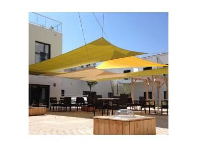 Waterproof and UV shade sail
