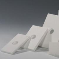Ceramic plate 120 × 80 × 10 holes