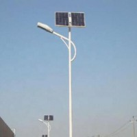 led solar power garden lamp with gel battery